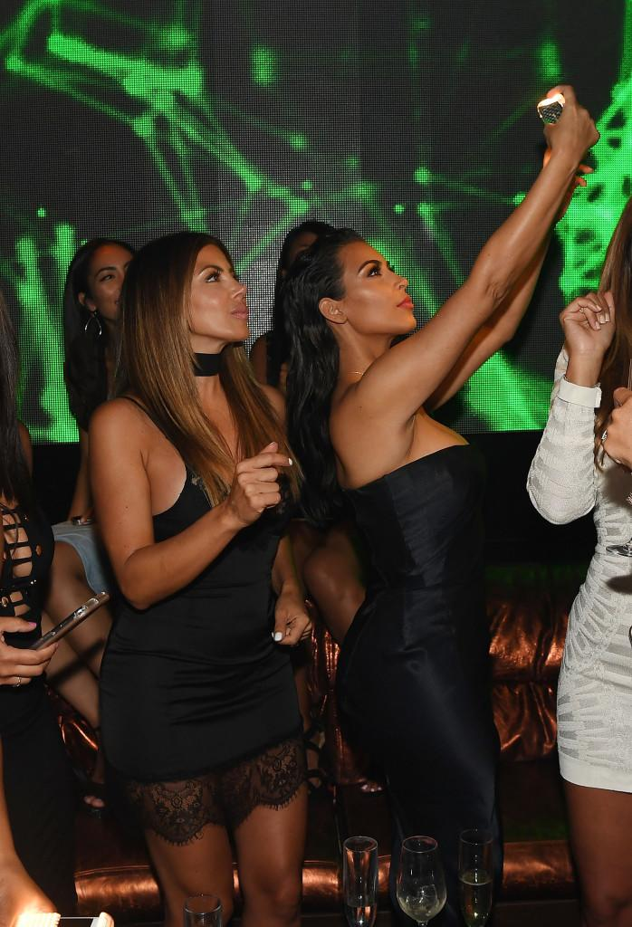 gettyimages 579202912 Kim Kardashian and Larsa Pippen Send Each Other Naked Photos All the Time