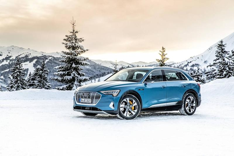 The Audi e-tron is at the pricier end of the scale (Audi AG)