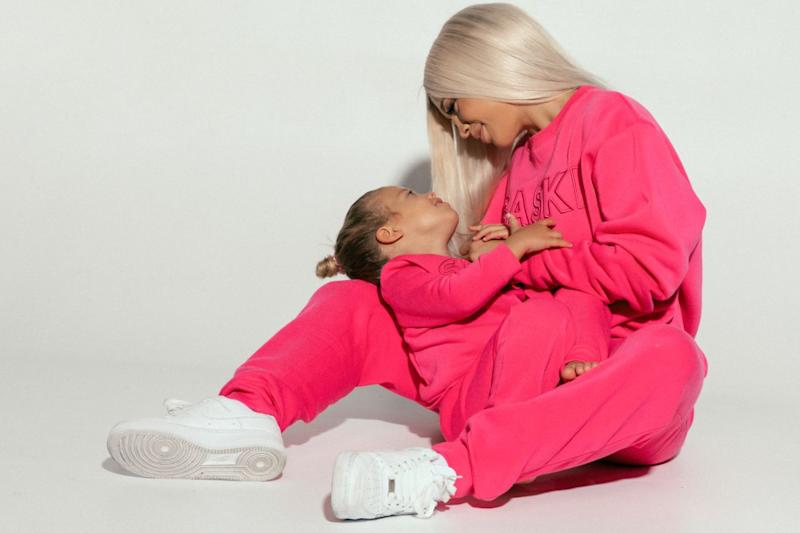 Tammy Hembrow with daughter Saskia in Saski-mini collection