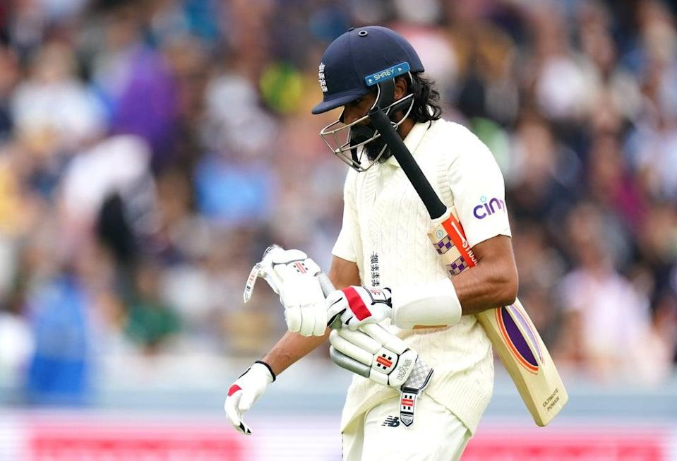 Haseeb Hameed could be shuffled up the order (Zac Goodwin/PA) (PA Wire)