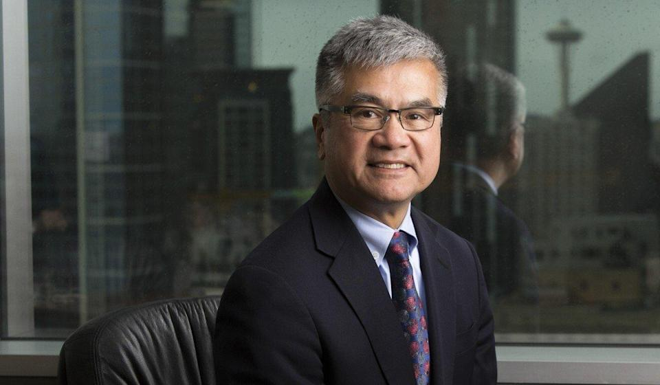 """""""The unfair and unequal discriminatory treatment of Chinese-Americans and Asian-Americans in contrast to people with non-Asian names is absolutely shocking and unacceptable,"""" said C100 chairman Gary Locke. Photo: Jason Redmond"""