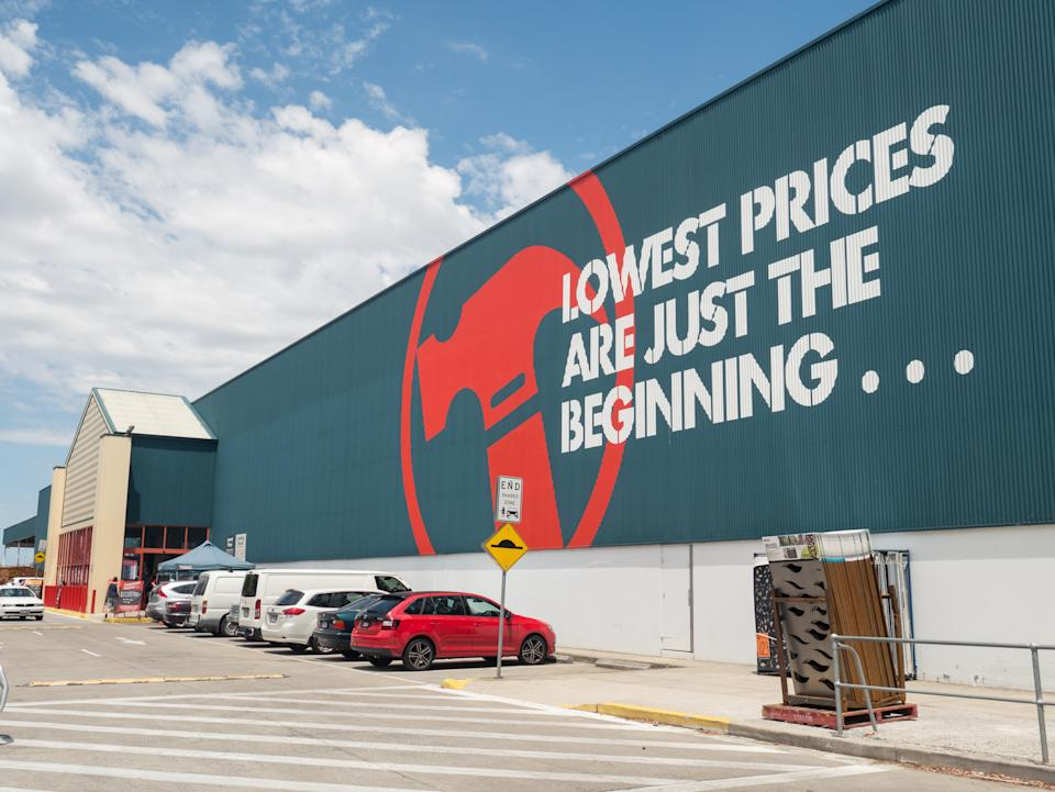 Bunnings Warehouse store front. Source: Getty Images