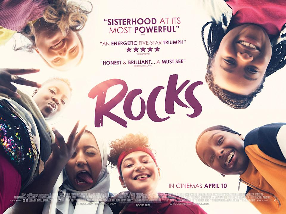 The poster for Rocks featuring the original release date. (Altitude)