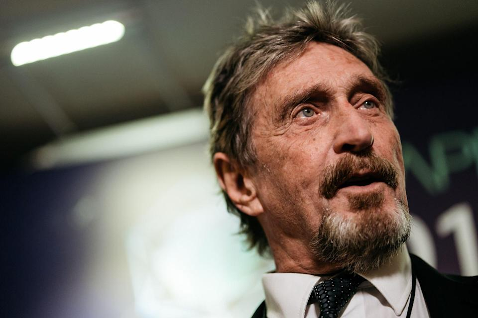 Cybersecurity Pioneer McAfee Arrested for U.S. Tax Evasion