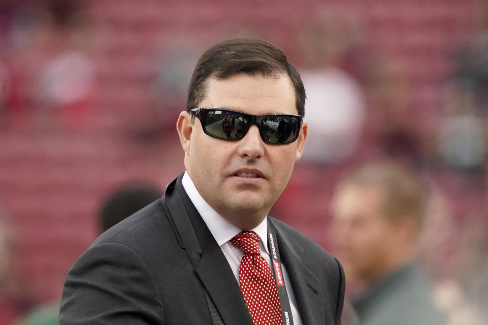 San Francisco 49ers CEO Jed York before the 2020 NFC championship game in Santa Clara. (Tony Avelar/AP)