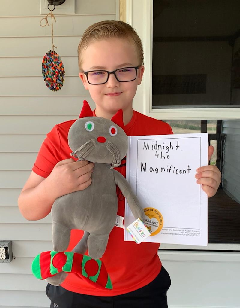 As a children's book writer, Shannon Anderson loves writing and wants her students to enjoy it, too. Having them write their own books and receive a plush toy of their main characters keeps her students engaged in writing. (Courtesy of Shannon Anderson)