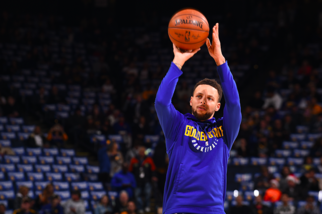 It's not a surprise, but Steph Curry is a major threat from three-point range. (Getty Images)