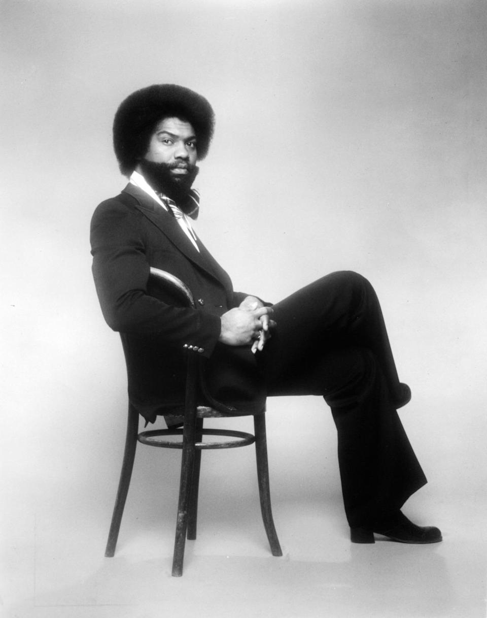 """Nicholas Caldwell was a founding member of the Whispers, whose hits included """"Rock Steady."""" He died Jan. 5 from congestive heart failure. He was 71. (Photo: Getty Images)"""