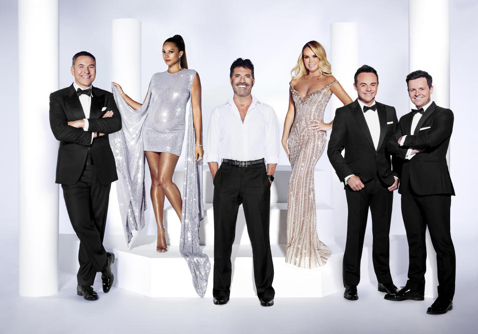 Amanda Holden returns to the BGT panel for the new series of Britain's Got Talent: The Champions (Photo by ITV)