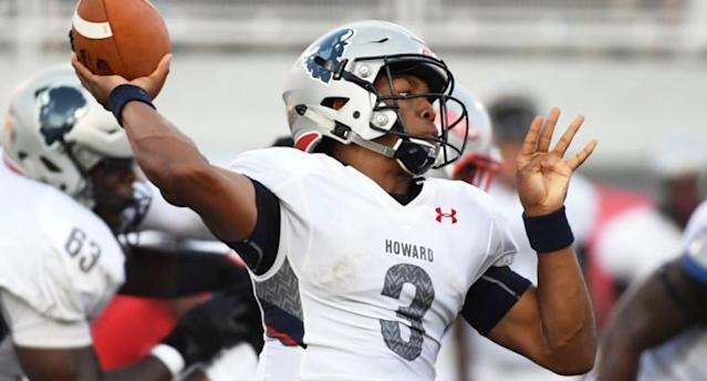 Caylin Newton, Cam's younger brother, had three touchdowns against UNLV. (Getty Images)