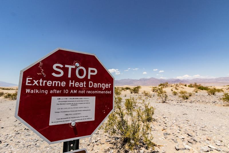 Don't visit after 10am, says Death Valley: Getty/iStock