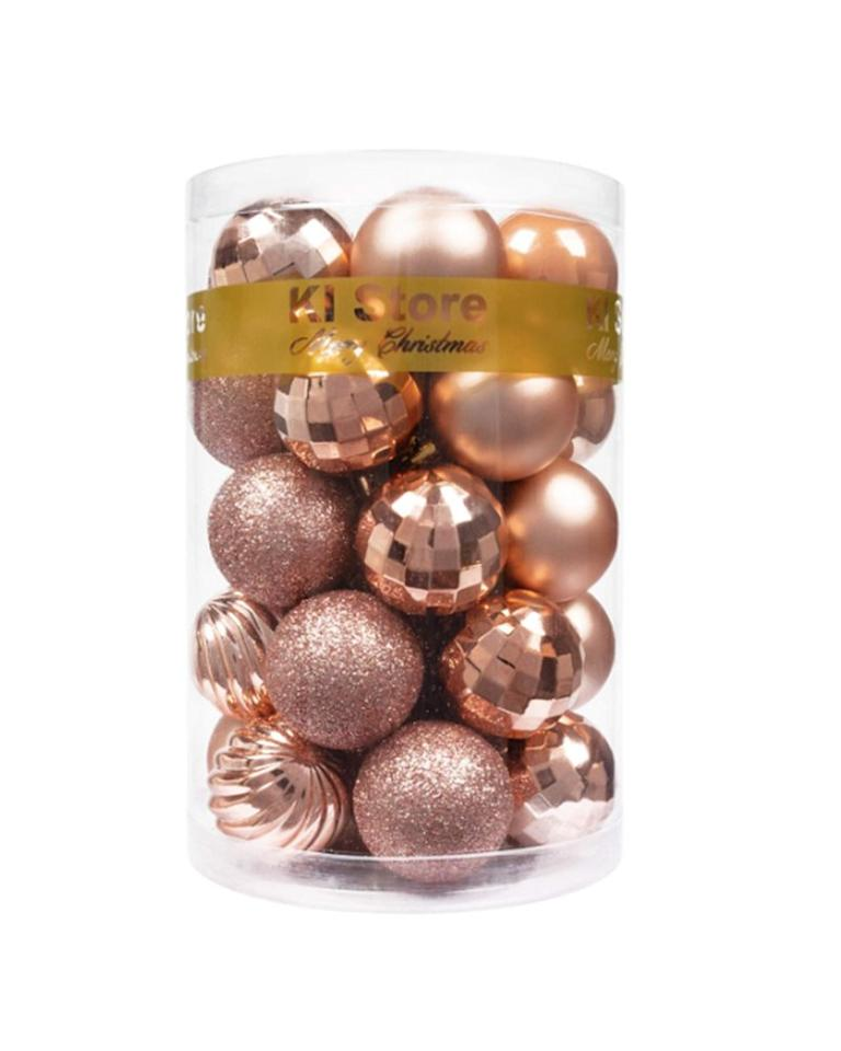 "<p>Finding Christmas ornaments that match your color palette has never been easier. This set of 34 ball ornaments comes in five different styles, and you can choose from 23 different color options. Opt for a classic red and green motif, or mix it up with blush pink and teal this year. </p> <p><strong>To buy: </strong>$13 for set of 34 ornaments, <a href=""https://www.amazon.com/KI-Store-Shatterproof-Decorations-Decoration/dp/B016MKL2BM/ref=as_li_ss_tl?ie=UTF8&linkCode=ll1&tag=rsholbestchristmasdecorationsonamazonkholdefehrnov19-20&linkId=885dc39df9fe8e17352c7a1a9f41dcb0&language=en_US"" target=""_blank"">amazon.com</a>. </p>"