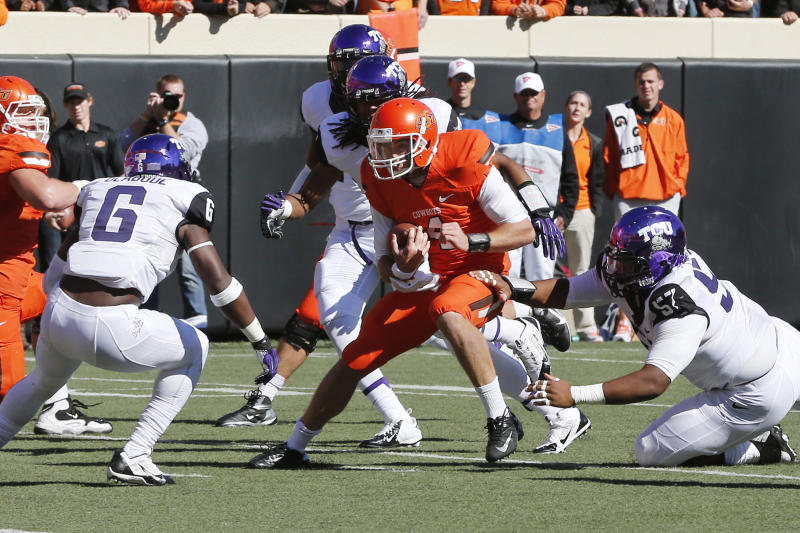 Longhorns head to TCU for 1st time since 1994