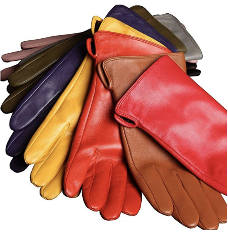 Warmen winter leather texting gloves. (Photo: Amazon)