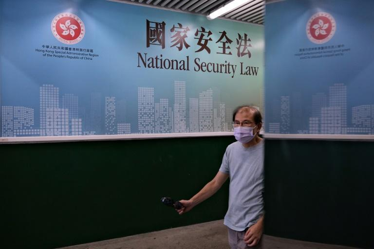 China imposed a sweeping new national security law in June after huge and often violent pro-democracy protests in Hong Kong last year