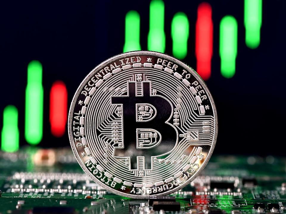 Bitcoin has risen in price from below $5,000 in March 2020, to over $35,000 in January 2021 (Getty Images)