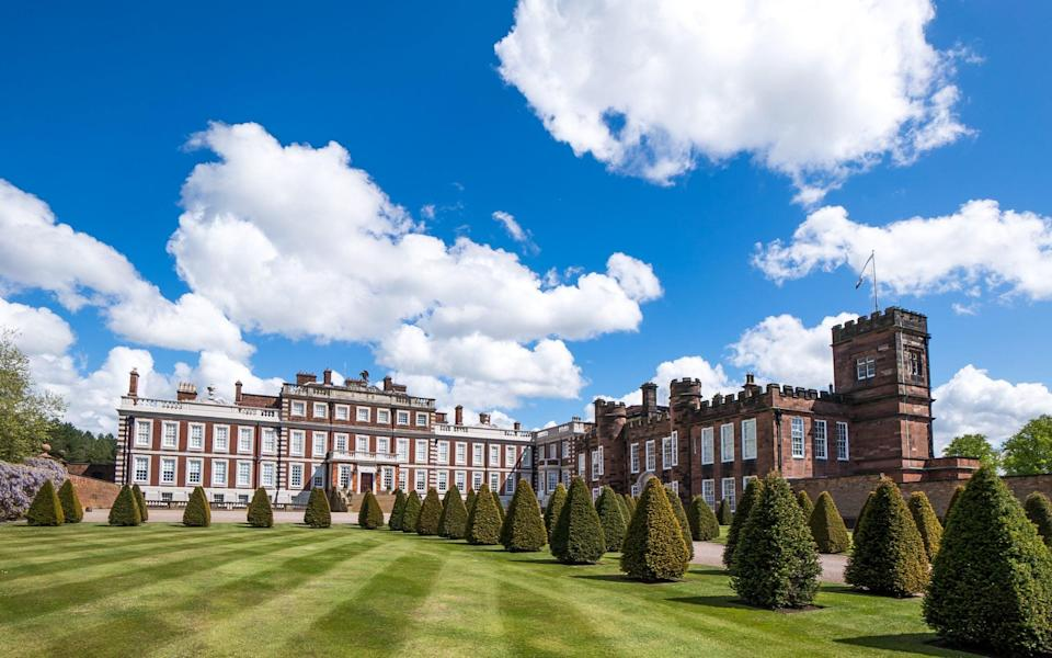 knowsley hall - Knowsley Hall