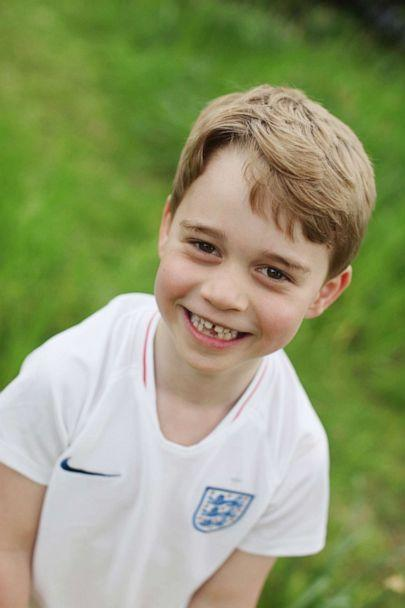 PHOTO: This undated handout photo of Prince George taken by his mother, the Duchess of Cambridge, was released on July 21, 2019, to mark his sixth birthday on Monday, July 22, 2019. (The Duchess of Cambridge/PA Wire)
