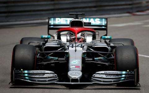 Formula One F1 - Monaco Grand Prix - Circuit de Monaco, Monte Carlo, Monaco - May 25, 2019 Mercedes' Lewis Hamilton during practice  - Credit: Reuters