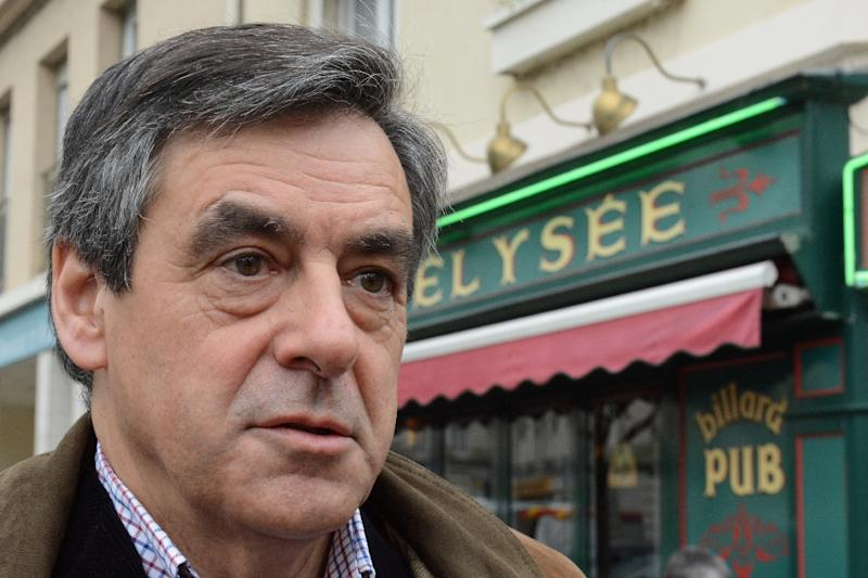 Francois Fillon has flatly denied any wrongdoing in the scandal over his wife's job (AFP Photo/JEAN-FRANCOIS MONIER)