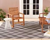 <p>This <span>Nicole Miller Calla Outdoor Patio Country Rug</span> ($150) will instantly revive any space.</p>