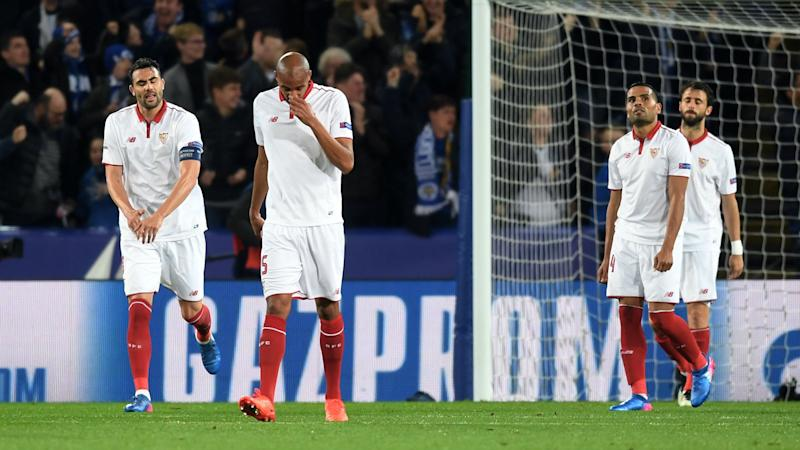 Atletico hope to heed Sevilla mistakes against Leicester