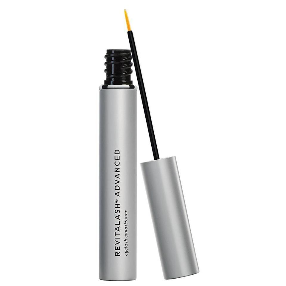 """<p><strong>RevitaLash Cosmetics</strong></p><p>dermstore.com</p><p><strong>$98.00</strong></p><p><a href=""""https://go.redirectingat.com?id=74968X1596630&url=https%3A%2F%2Fwww.dermstore.com%2Fproduct_Advanced%2BEyelash%2BConditioner%2B%2B3%2BMonth%2BSupply_74311.htm&sref=https%3A%2F%2Fwww.harpersbazaar.com%2Fbeauty%2Fg36492774%2Fdermstore-summer-sale-2021%2F"""" rel=""""nofollow noopener"""" target=""""_blank"""" data-ylk=""""slk:Shop Now"""" class=""""link rapid-noclick-resp"""">Shop Now</a></p><p>A <a href=""""https://www.harpersbazaar.com/beauty/skin-care/a26412880/anti-aging-awards/"""" rel=""""nofollow noopener"""" target=""""_blank"""" data-ylk=""""slk:2021 BAZAAR Anti-Aging Awards"""" class=""""link rapid-noclick-resp"""">2021 BAZAAR Anti-Aging Awards</a> winner for best lash serum, this biotin- and panthenol-rich formula has it all. As it brings your lashes to elongated glory, it also prevents breakage and brittleness over time. </p>"""