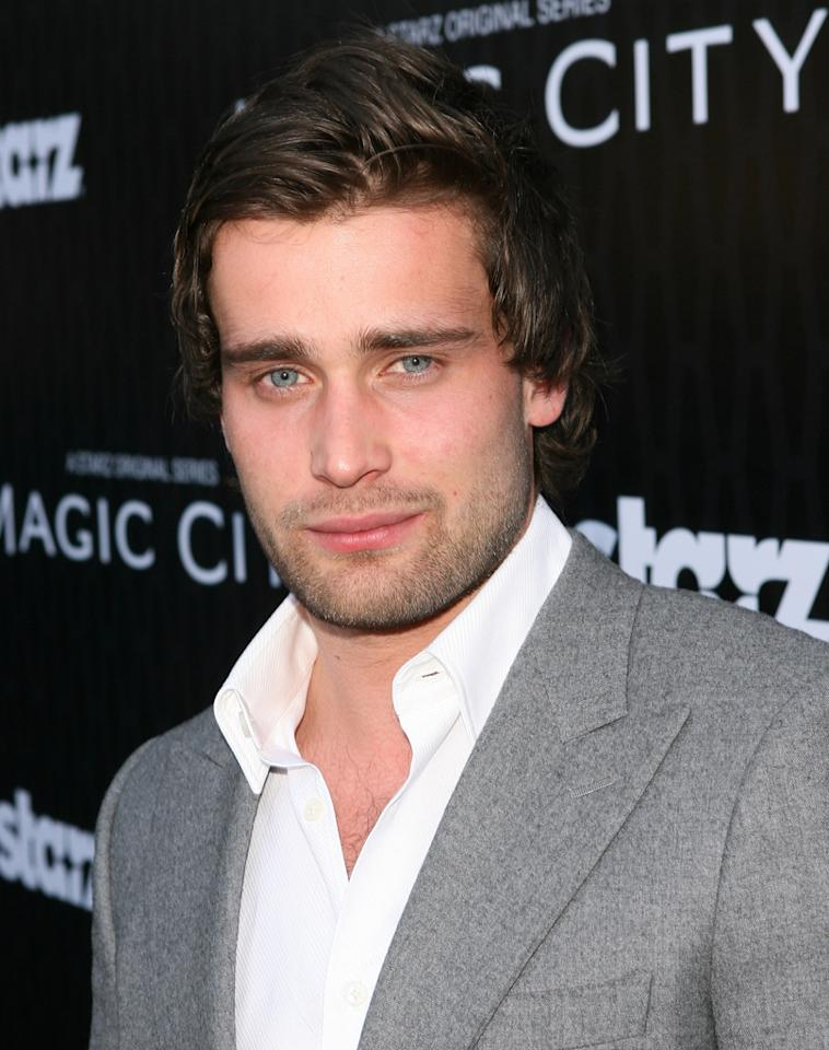 "Christian Cooke attends the Starz '<a target=""_blank"" href=""http://tv.yahoo.com/magic-city/show/46996"">Magic City</a>' Los Angeles Series Premiere at Directors Guild Of America on March 20, 2012 in Los Angeles, California."