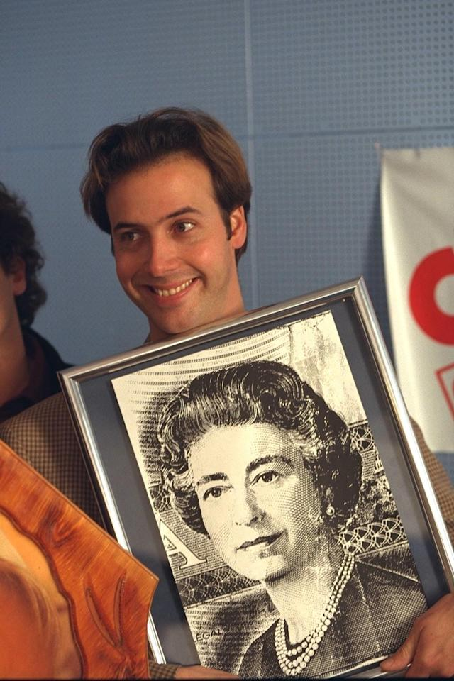 Pierre Brassard hoaxed the Queen in Canada. (Getty Images)
