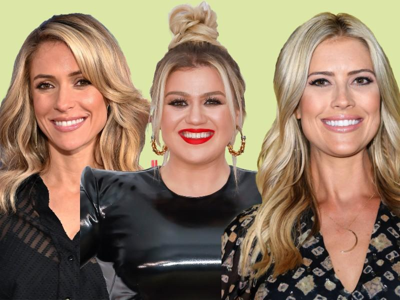 Kristin Cavallari, Kelly Clarkson and Christina Antsead are all dealing with divorces during a pandemic. (Photos: Getty Images)
