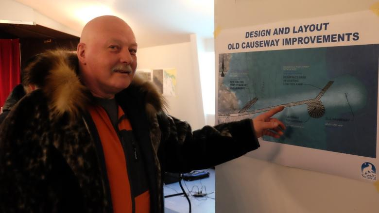 Public gets first look at plans for Iqaluit's deep sea port