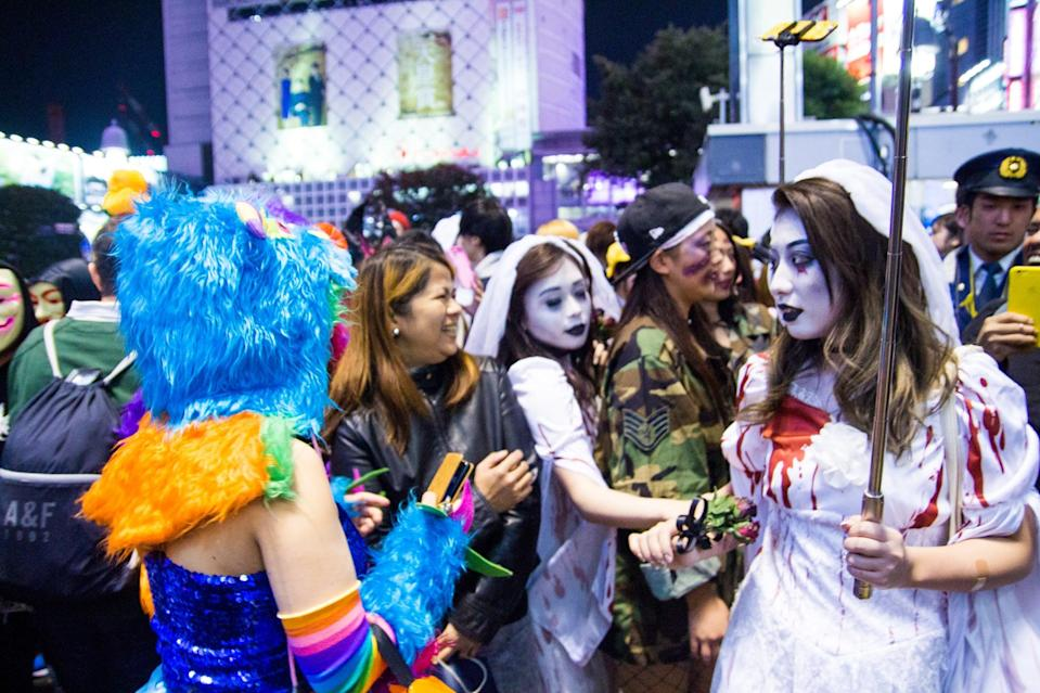 """<p><span>Halloween</span> is more of an """"adult"""" holiday in Japan. The tradition began with the wonder of spectating at Tokyo Disneyland, and over the years, it took off with fans of cosplay. Costume parties, the Kawasaki <span>Halloween</span> Parade, and festivities in bars and clubs have, in recent years, become more popular in Japan.</p>"""