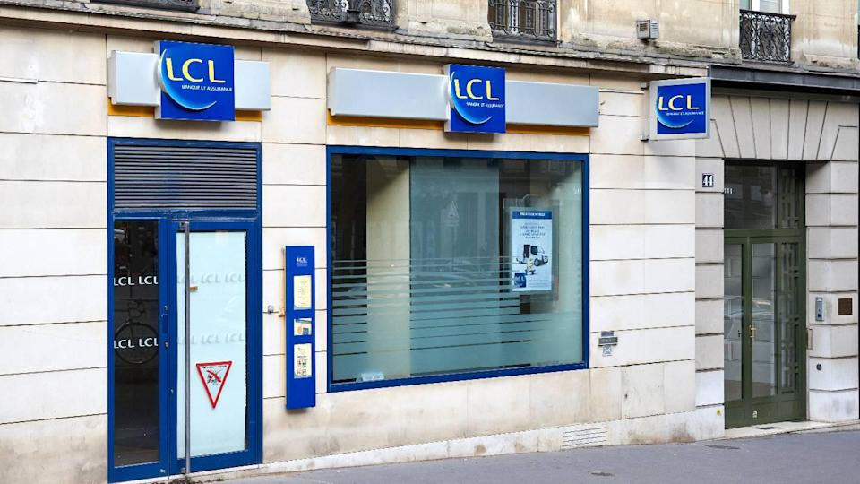 Une agence LCL