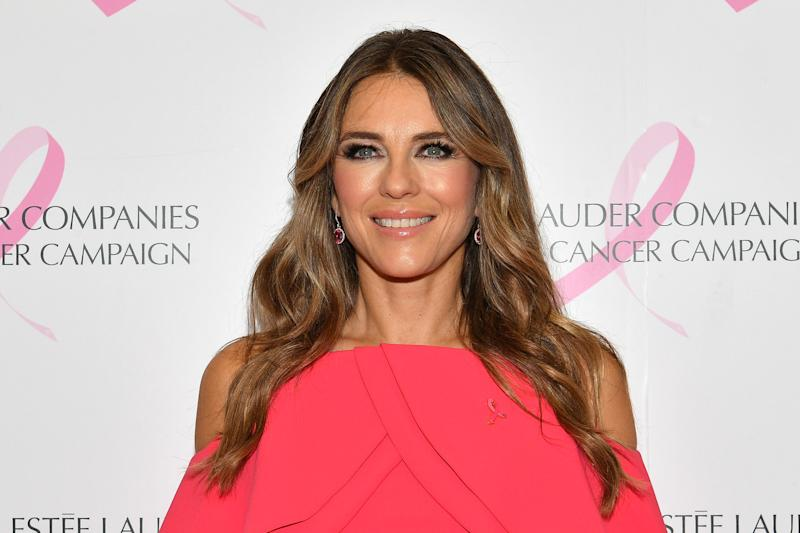 Elizabeth Hurley showed she hasn't changed much in over a decade with a throwback Instagram photo of herself and son Damian. (Photo: Dia Dipasupil/Getty Images)