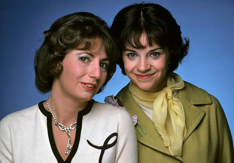 Image result for image, photo, picture, laverne and shirley, if i loved you