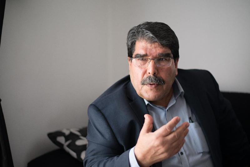 Salih Muslim, co-president of the Syrian Kurdish Democratic Union Party (PYD), Dec 1 2013