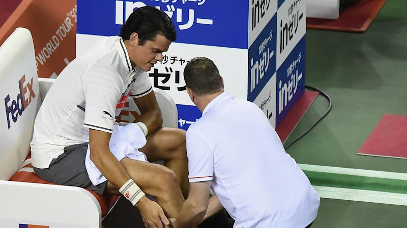 More injury woe for Raonic, Goffin marches on in Tokyo