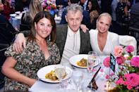 <p>Monica Lewinsky, Alan Cumming and Kristin Chenoweth enjoy a night out at the Hudson River Park Gala on Oct. 7 in N.Y.C. </p>