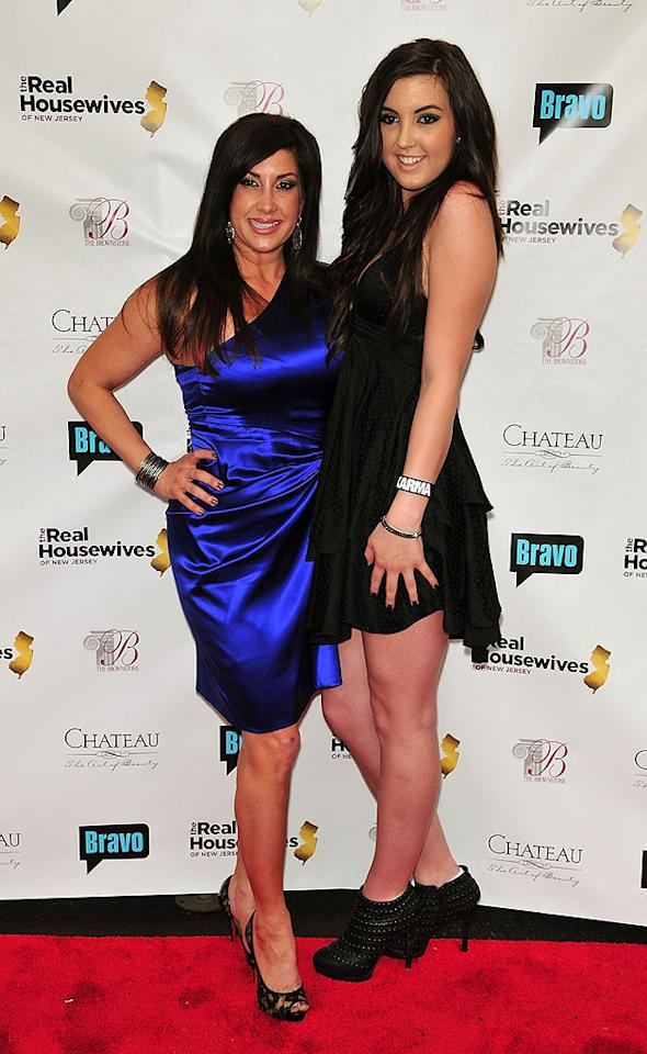"""Jacqueline was joined by her daughter Ashley, who was found guilty of assault earlier this year for yanking out Danielle Staub's hair extension. Perhaps that's why Danielle was absent from the festivities? Brian Killian/<a href=""""http://www.wireimage.com"""" target=""""new"""">WireImage.com</a> - May 3, 2010"""