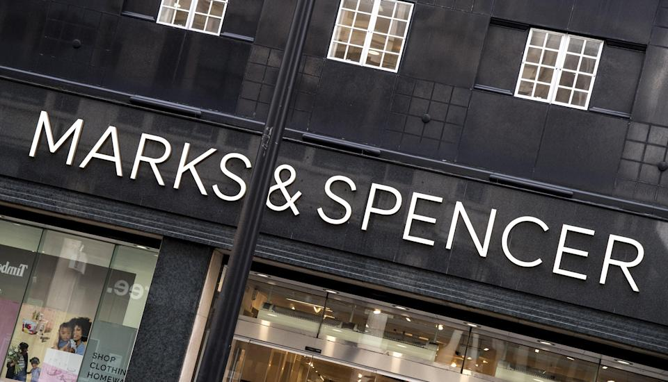 Marks and Spencer branch (PA Wire)