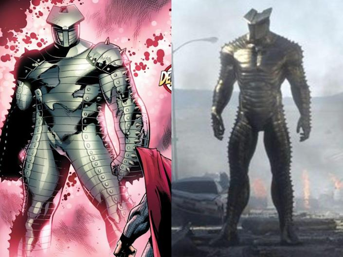 the destroyer in the comics and the mcu