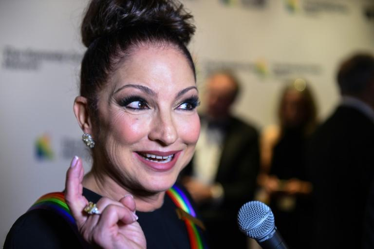 """Gloria Estefan (pictured 2018) has shared a video titled """"Put On Your Mask"""" -- set to the tune of her hit song """"Get On Your Feet"""" -- urging listeners to wear a cloth mask in public to protect themselves from spreading or contracting the coronavirus"""