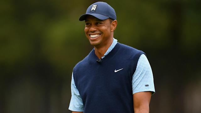 American star Tiger Woods discussed his recovery from knee surgery ahead of the Zozo Championship, which takes place in Japan.