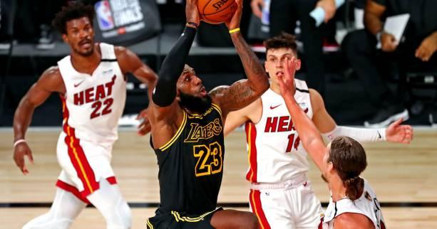 Basket - NBA - NBA : le succès des Los Angeles Lakers contre le Miami Heat lors du match 2 de la finale en chiffres