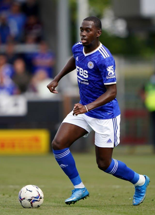 Boubakary Soumare joined Leicester for a £17million fee