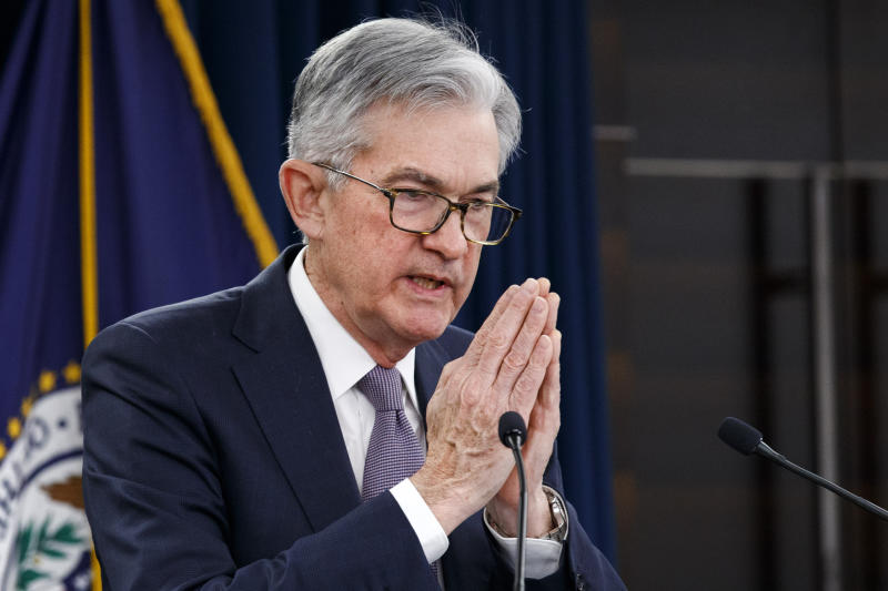 Federal Reserve Chair Jerome Powell. (AP Photo/Jacquelyn Martin)