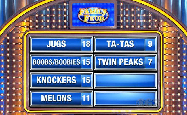 This Question On Last Night's 'Family Feud' Perfectly Sums