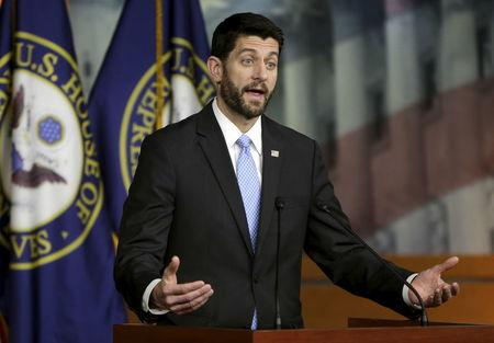 U.S. Speaker of the House Ryan holds news conference on budget in Washington