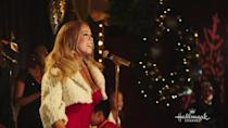 """<p>While not a true movie with a plot, this 40-minute Hallmark Channel special features the Queen of Christmas singing her favorite <a href=""""https://www.goodhousekeeping.com/holidays/christmas-ideas/g2680/christmas-songs/"""" rel=""""nofollow noopener"""" target=""""_blank"""" data-ylk=""""slk:holiday music"""" class=""""link rapid-noclick-resp"""">holiday music</a> with some performing pals. There's even a celebrity reading of """"The Night Before Christmas!""""</p><p><a class=""""link rapid-noclick-resp"""" href=""""https://www.netflix.com/watch/80160347"""" rel=""""nofollow noopener"""" target=""""_blank"""" data-ylk=""""slk:WATCH NOW"""">WATCH NOW</a></p>"""