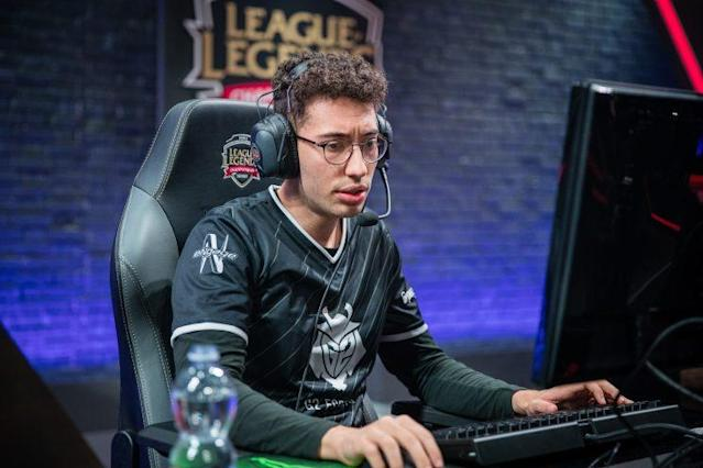 Mithy is the support player for G2 Esports (lolesports)
